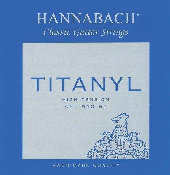 Hannabach Klassikgitarre-Saiten Serie 950 High Tension Titanyl
