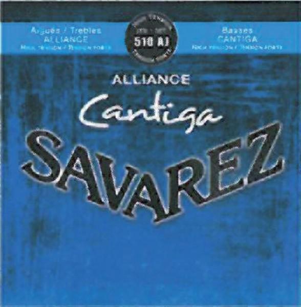 Savarez Klassikgitarre-Saiten Alliance Cantiga Satz high
